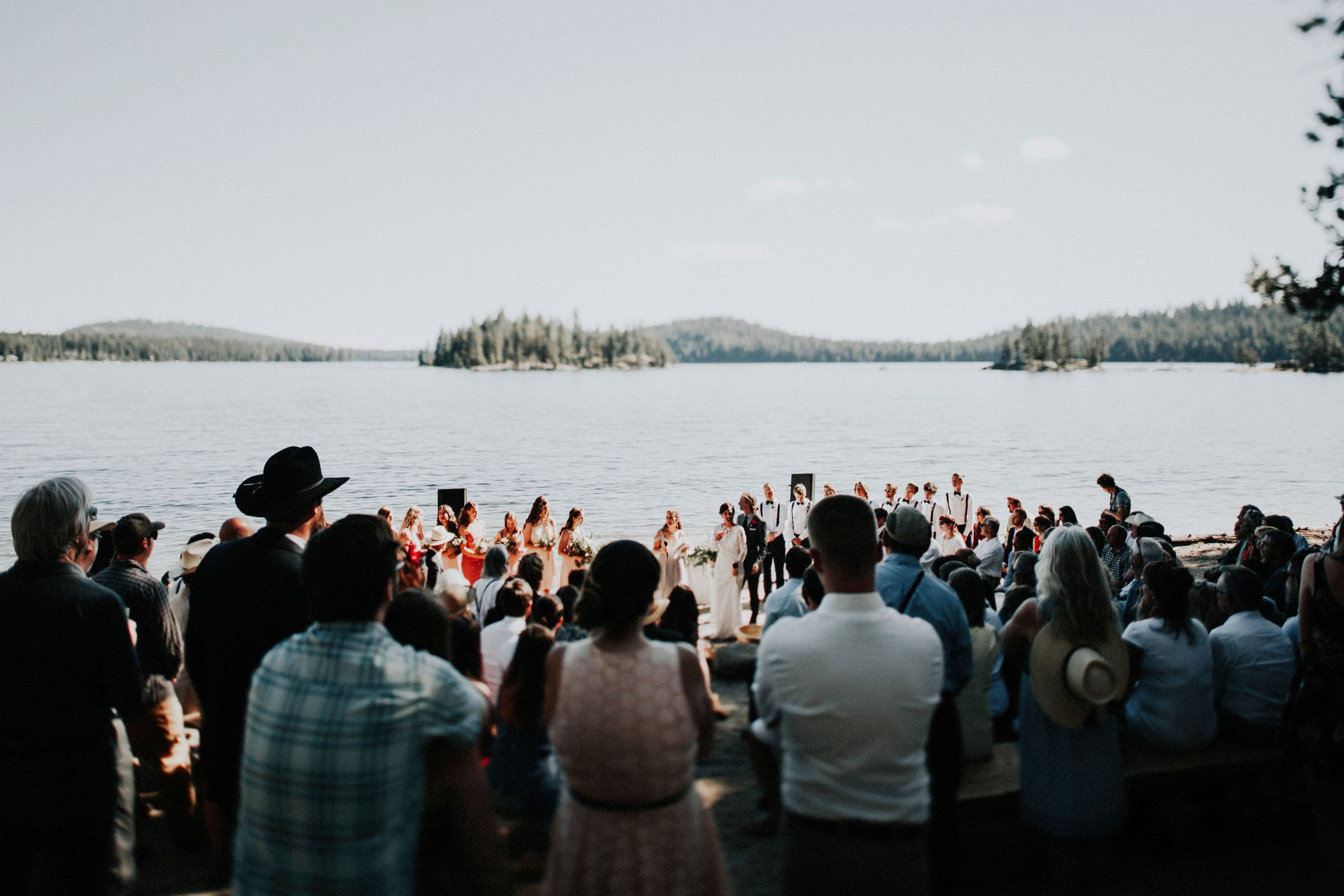 McCall, Idaho Summer Camp Wedding |