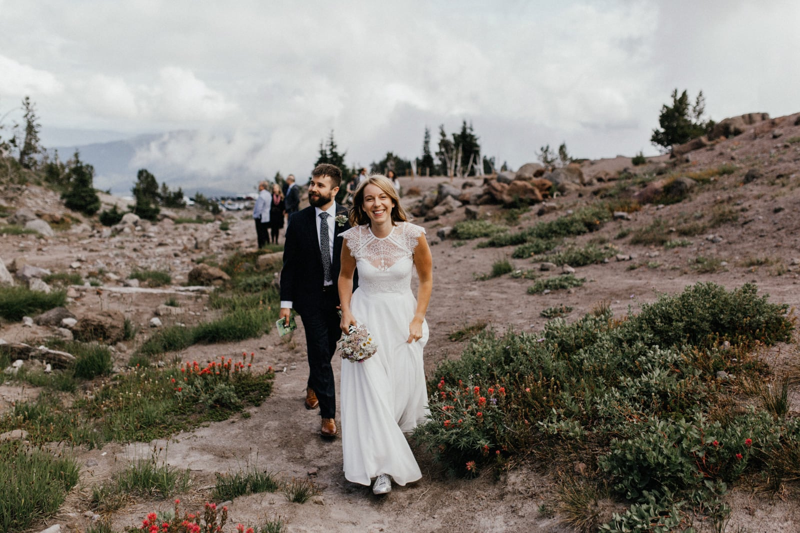 Timberline Lodge elopement